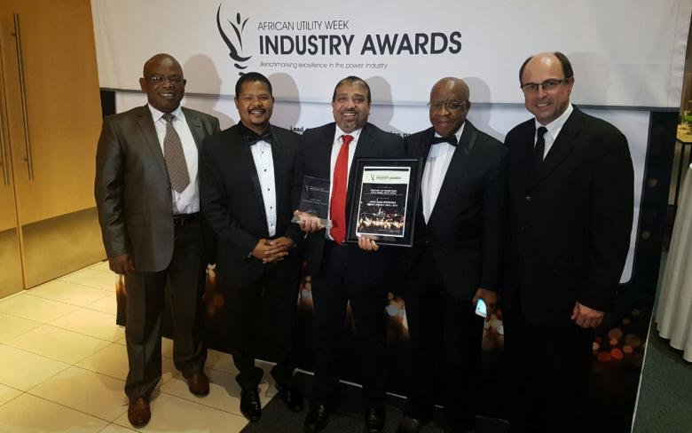 The Kathu and Bokpoort thermosolar plants, prize winners in the African Utility Week Industry Awards