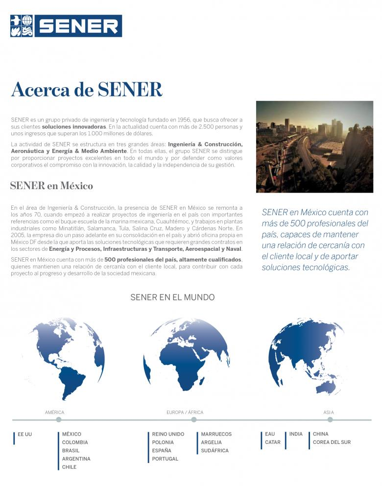 SENER in Mexico project catalog