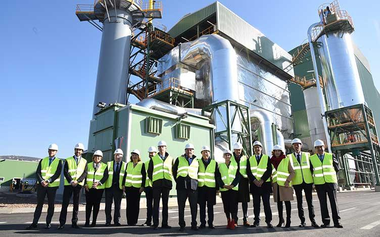 The Ence biomass generation plant in Puertollano, a SENER project, is opened